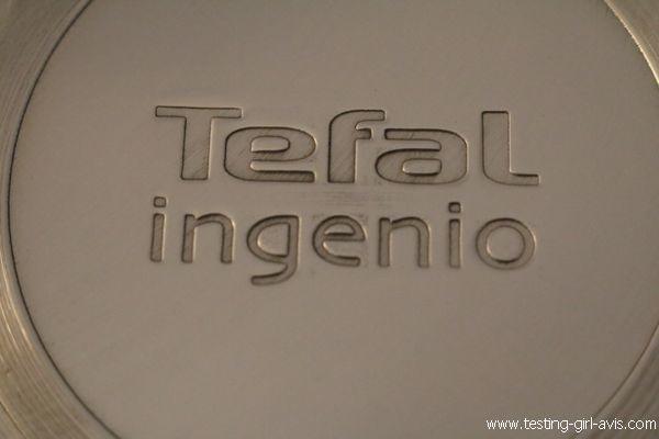 Poele Tefal Inox manche amovible - Ingenio Pro Inox - Marque Tefal