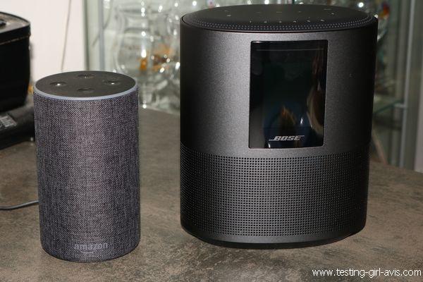 Enceinte intelligente Bose Home Speaker 500 - Vs Amazon Echo
