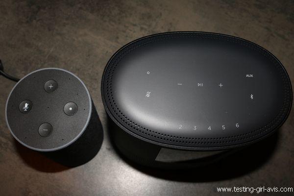 Enceinte intelligente Bose Home Speaker 500 Vs Amazon Echo