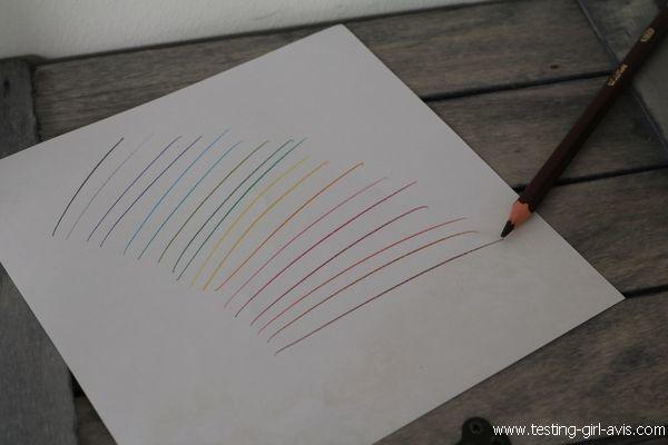 Coloriage BIC Kids - Crayons couleur Evolution - Test