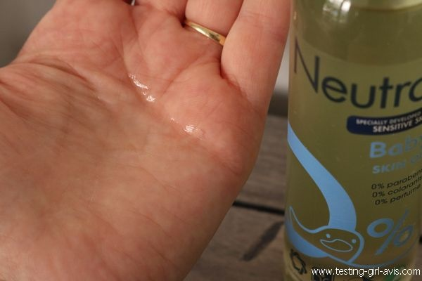 Huile Neutre Massage Soin Peaux Réactives Neutral - Test