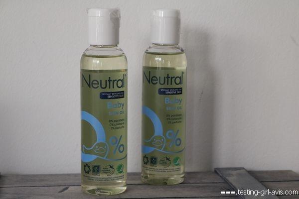 Huile Neutre Massage Soin Peaux Réactives Neutral - Description