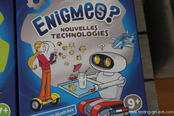 Bioviva Enigmes ? - Les petits jeux revisités à emmener partout - Nouvelles Technologies