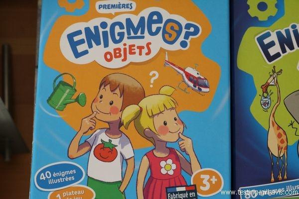 Bioviva Enigmes ? - Les petits jeux revisités à emmener partout - Mes premières énigmes objets