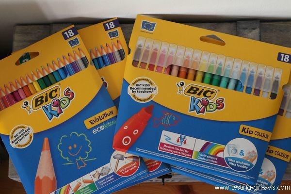 Coloriage BIC Kids