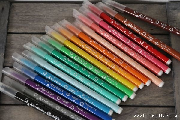 Coloriage BIC Kids - Feutres - Kid Couleur - Avis