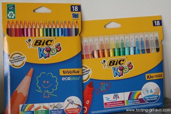 Coloriage BIC Kids - Avis
