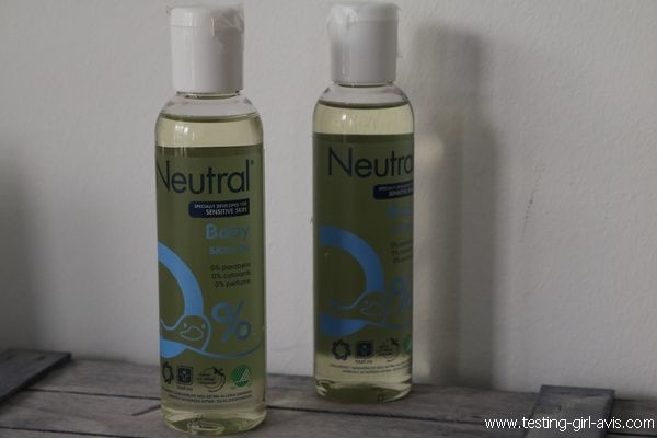 Huile Neutre Massage Soin Peaux Réactives Neutral - Avis