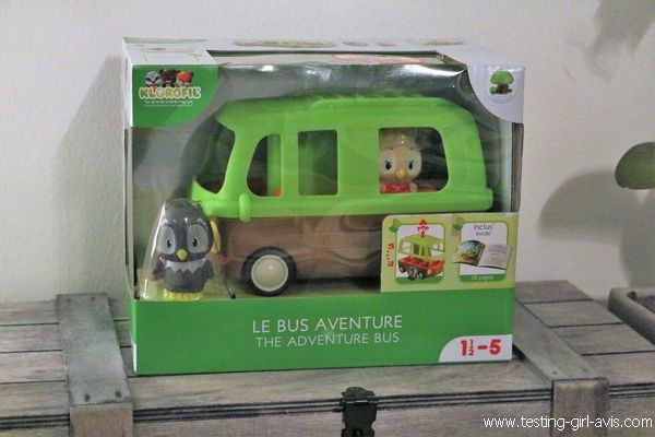 Le bus aventure Klorofil - Description