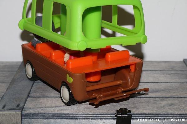 Le bus aventure Klorofil - Coffre Bagages