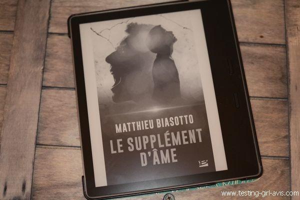 Le supplément d'âme - Matthieu biasotto - Chronique