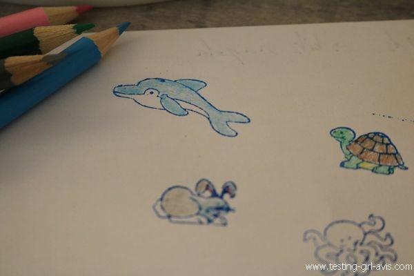 Tampon encreur enfant - idée d'activité - Melissa & Doug - Test