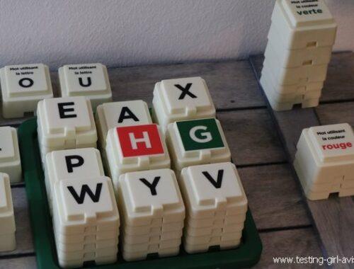 Le jeu de Scrabble Tour : Le célèbre jeu de lettres revisité !