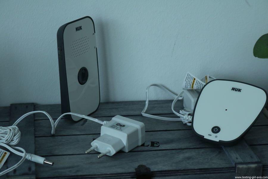 Le babyphone Nuk Eco Control Audio 500: simple et fonctionnel