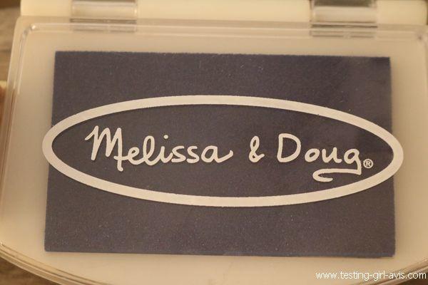 Tampon encreur enfant - idée d'activité - Melissa & Doug - Marque