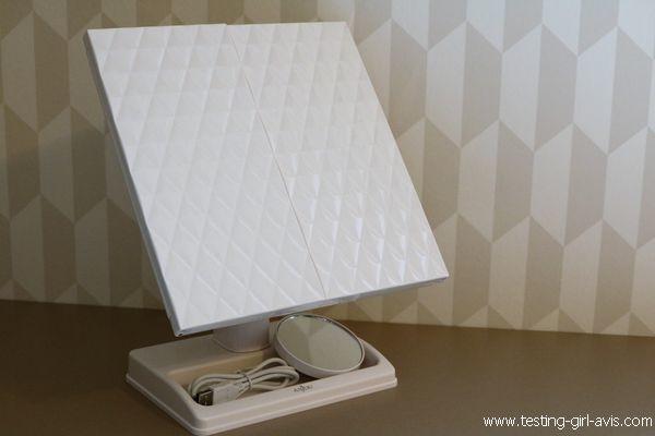 miroir salle de bain LED Anjou - plié