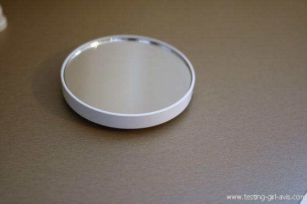 miroir salle de bain LED Anjou - petit miroir rond