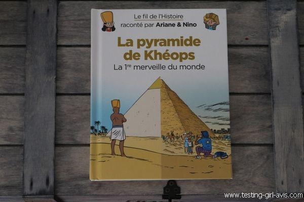 La pyramide de Kheops - 1ère merveille du monde