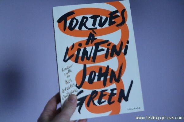 Livres pour la jeunesse - Tortues à l'infini - John Green - Chronique