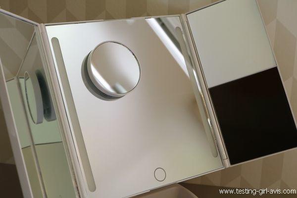miroir salle de bain LED Anjou - Test
