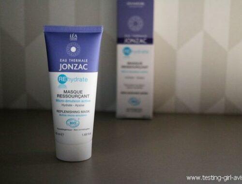 Ressourçant, le masque hydratant et apaisant REhydrate de Jonzac ?