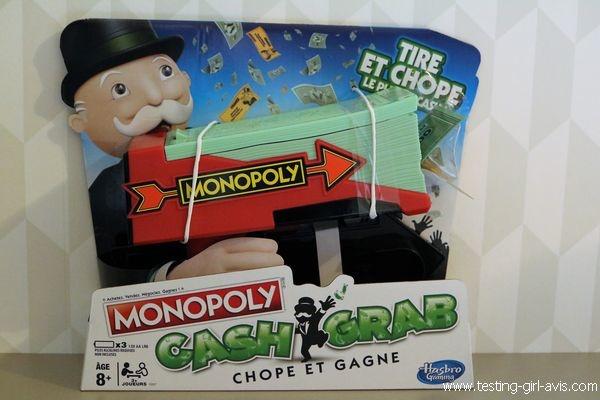 Monopoly Cash et Grab - Chope et gagne - Description du jeu