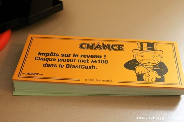 Cartes Chance en français