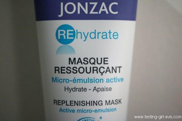 Masque visage ressourçant Jonzac - Avis