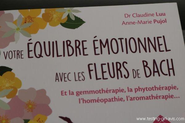 Votre équilibre émotionnel avec les fleurs de Bach - Elixir Floral