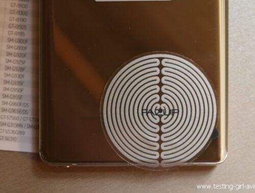 Protection ondes magnétiques - Patch FAZUP