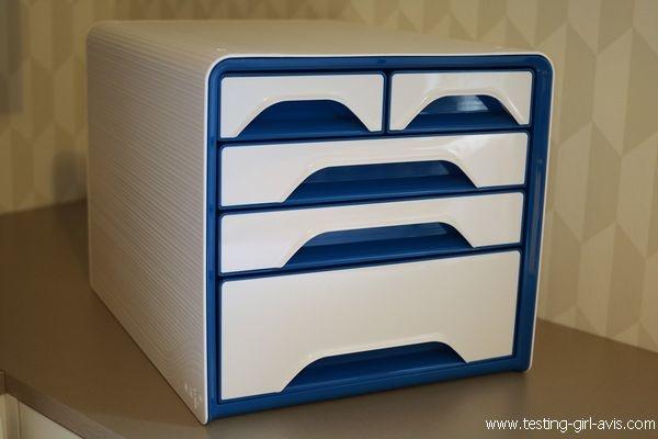 CEP – classement avec 5 tiroirs de bureau, 360 x 288 x 270 mm