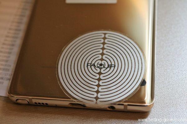 Patch FAZUP  - Samsung Galaxy Note 8