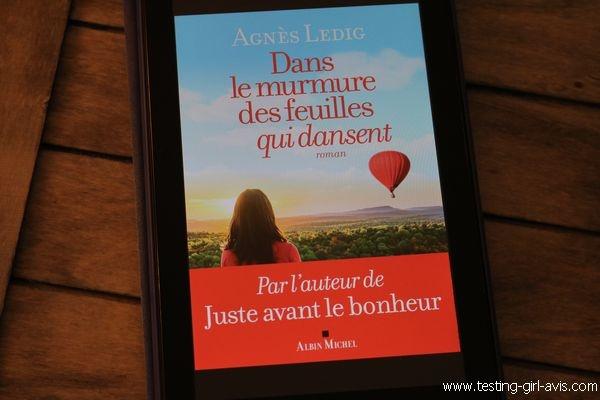 10 livres à lire cet été - Dans le murmure des feuilles qui dansent - Agnès Ledig