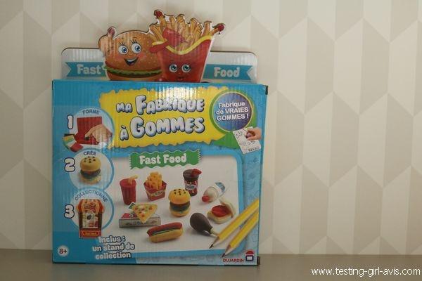 Jeux et jouets - Dujardin - Ma fabrique a gomme Fast Food