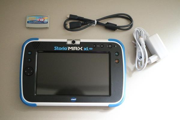 La tablette tactile Storio Max XL 2.0 de VTECH : une console éducative