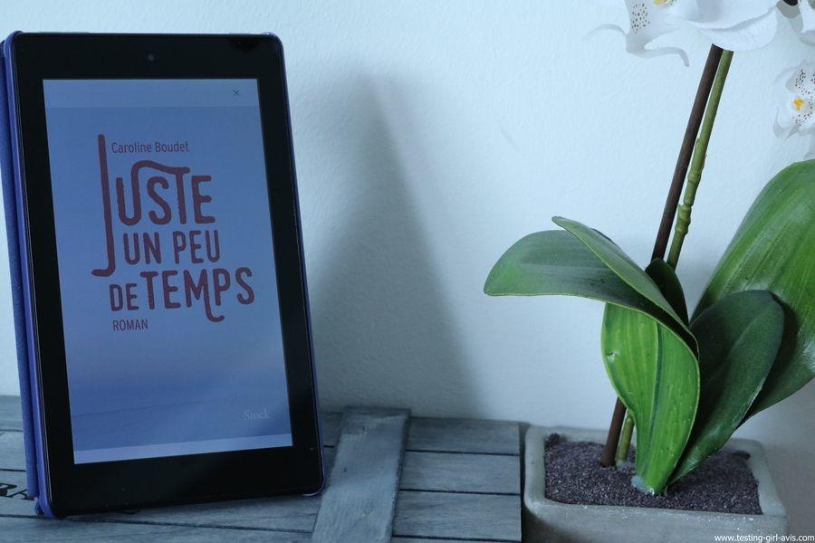 10 livres à lire cet été - Juste un peu de temps - Caroline Boudet