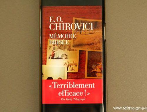 Mémoire brisée de E.O. Chirovici [Chronique] - parution mars 2019
