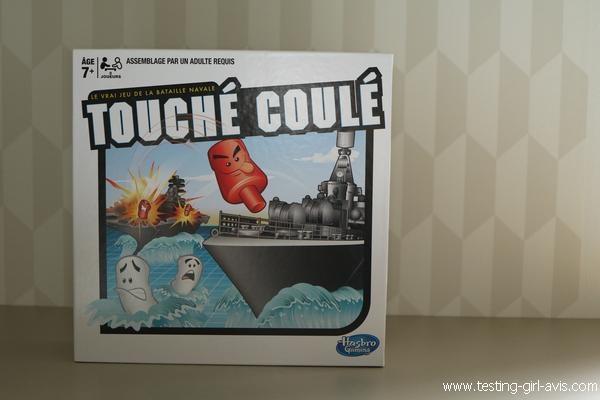 Le jeu de bataille navale Touché-Coulé - Jeux de stratégie