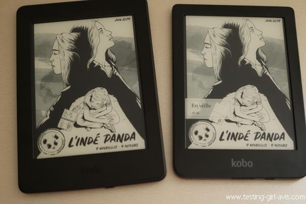 kobo clara hd vs kindle paperwhite : Comparatif