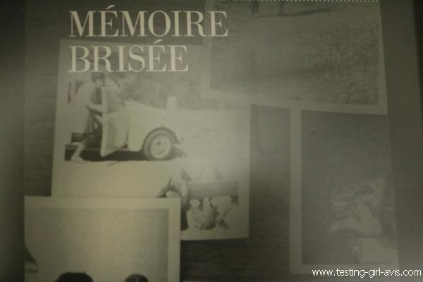 Mémoire brisée - l'histoire