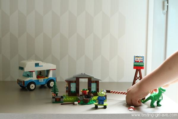 Les vacances en camping-car Toy Story 4 - LEGO 4+ - Avis