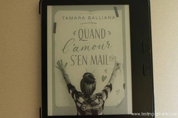 Quand l'amour s'en mail - Tamara Balliana [Chronique] - en livre papier et en livre numérique