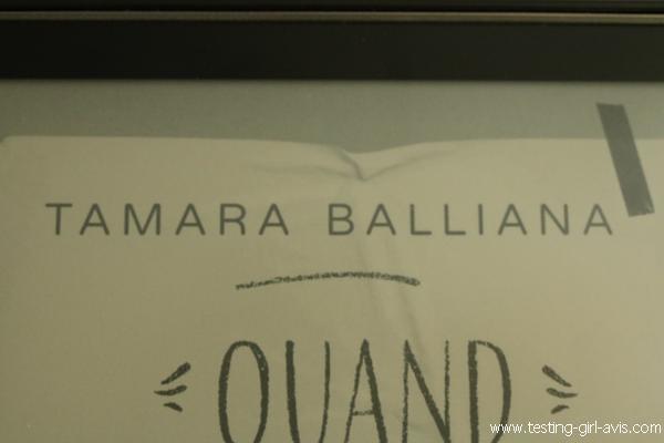 Tamara Balliana Auteure