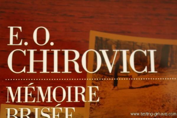 E.O. Chirovici - Mémoire brisée - Auteur