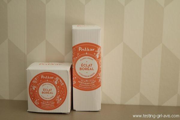 Polaar - Fluide lissant éclat boréal - crème lissante éclat boréal
