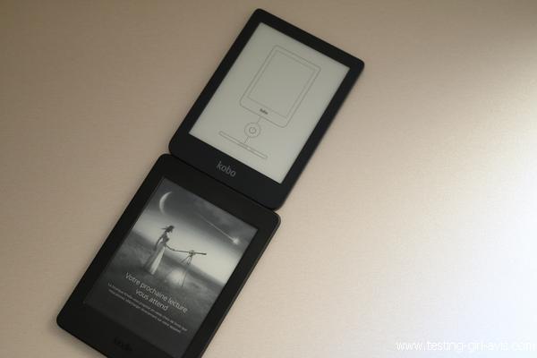 La Kobo Clara HD est moins large que la Kindle Paperwhite (7ème génération)