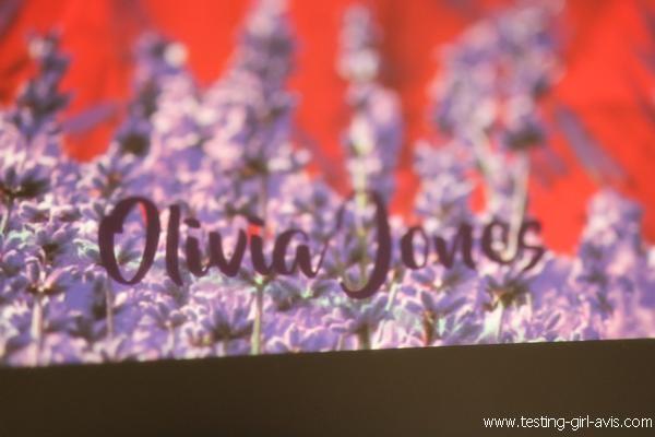 Auteure - Olivia Jones - Un parfum de lavande et de sang