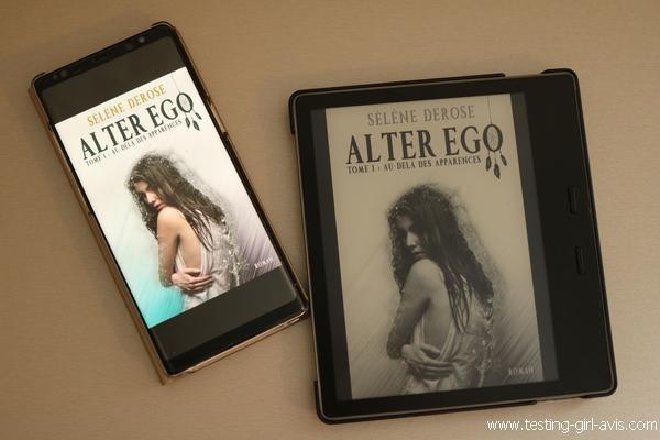 Au-delà des apparences - Alter Ego (Tome 1) de Sélène Derose - Avis lecture