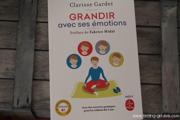 Grandir avec ses émotions - Clarisse Gardet- Livre de développement personnel