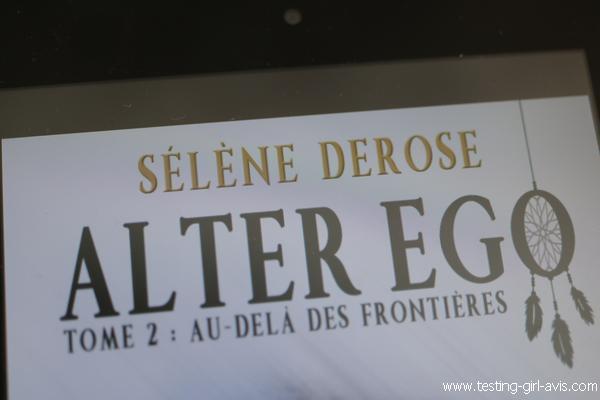 L'auteure Sélène Derose - auto éditée